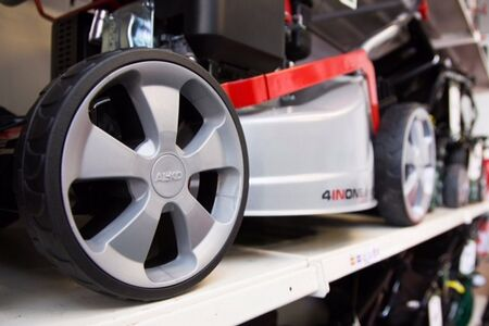 Alko Mower Close Up