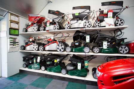Showroom mowers